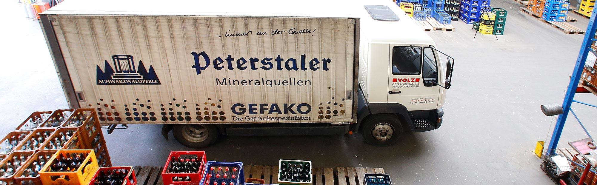 Getränke Volz: Getränkehändler im Raum Karlsruhe.